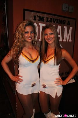 Washington Redskins Cheerleaders' Calendar Premiere Party