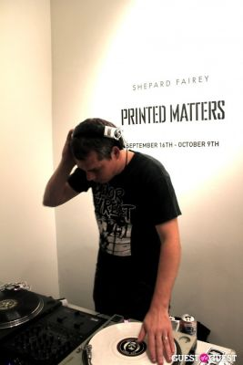 Shepard Fairey's Art Show