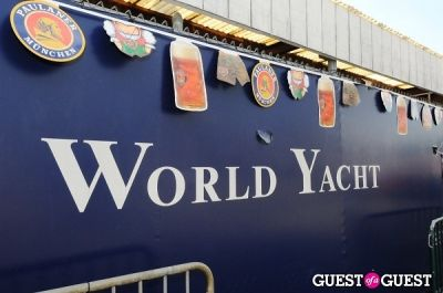 New York's 1st Annual Oktoberfest on the Hudson hosted by World Yacht & Pier 81