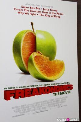 "The Premiere of ""Freakonomics"""