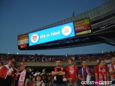 sky ferreira in US v. Poland Soccer