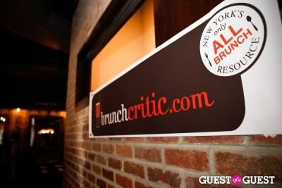 BrunchCritic.com Launch Party