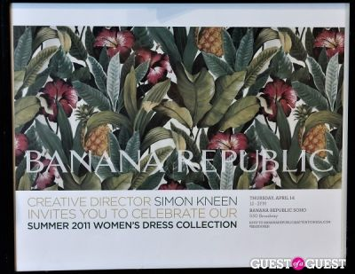 Banana Republic Summer Dress Collection Launch