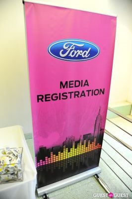Ford and Sony present New Ford vehicle & Private Concert with Train
