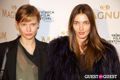 Tribeca Film Festival - Karl Lagerfeld & Rachel Bilson
