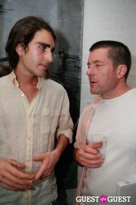 jerome lamaar in Brian Sensebe + Federico Saenz-Recio opening reception
