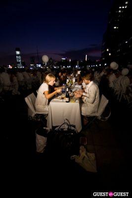 Diner En Blanc's New York Premiere