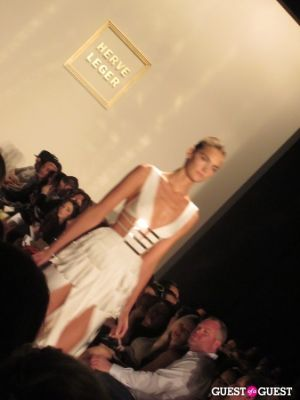 NYFW - HERVE LEGER Spring 2012 Collection