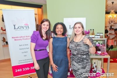 Lovii Natural Beauty Launch at SimplySoles at The Shops at Georgetown Park