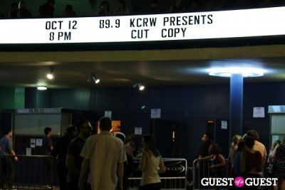 Cut Copy and Washed Out at the Hollywood Palladium