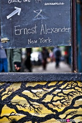 Ernest Alexander Store Opening