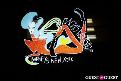 The Opening of Gaga's Workshop for the Holidays at Barneys NY