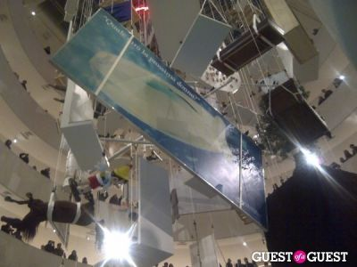 """The Last Word"":  Maurizio Cattelan's Closing Celebration at the Guggenheim"