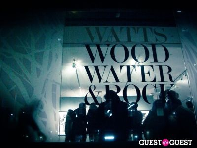 Watts' Wood Water & Rock Gallery Opening