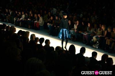 estella warren in NYFW: Milly By Michelle Smith Fall 2012 Runway Show