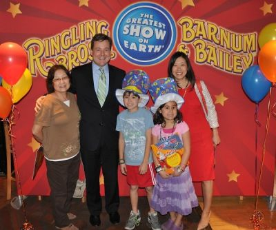 Ringling Bros. and Barnum & Bailey Circus presents Fully Charged VIP Opening Night Party