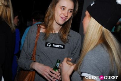 julia wetherell in SNOCRU Launch Party