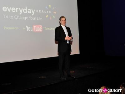 alan philips in Everyday Health YouTube Channel launch event