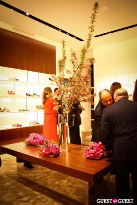 Ferragamo Flagship Re-Opening and Mr & Mrs. Smith Launch Event