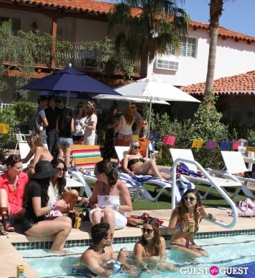 dj cassidy in Planet Blue X FOAM Magazine Pool Party (Coachella) by Jessica Turner