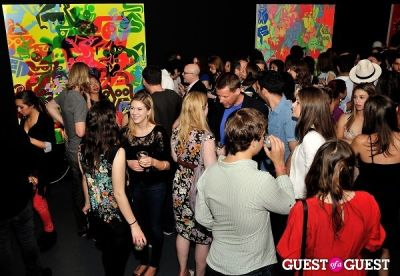 FLATT Magazine Closing Party for Ryan McGinness at Charles Bank Gallery