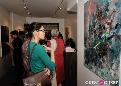 gwenyth paltrow in Unseen Forest - New Paintings by Chen Ping opening