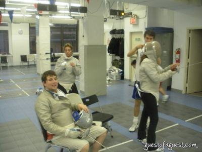 serena merriman in America's Next Top Fencing