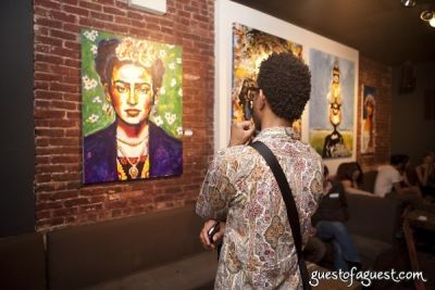 Antony Zito Exhibit Opening at GalleryBar