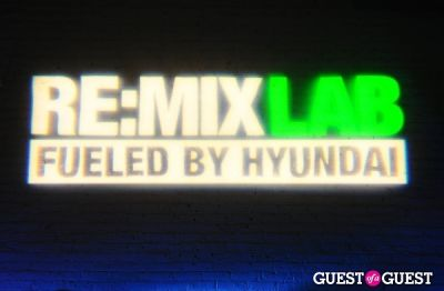 Preview Party for The RE:MIX Lab Fueled by Hyundai