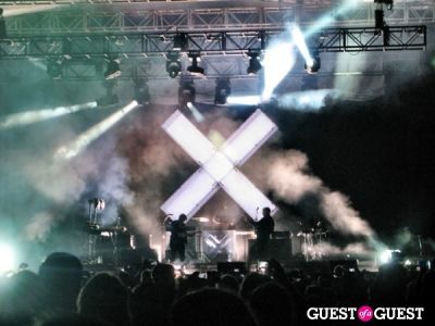 The xx at Hollywood Forever Cemetery