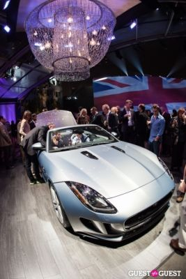 Jaguar and Land Rover Unveil Event at Paramount Studios