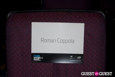 "W Hotels, Intel and Roman Coppola ""Four Stories"" Film Premiere"