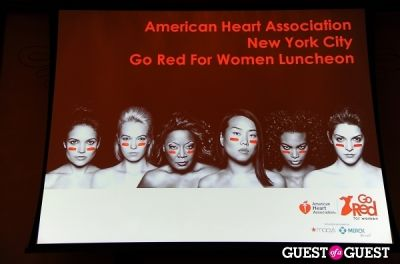 The 2013 American Heart Association New York City Go Red For Women Luncheon