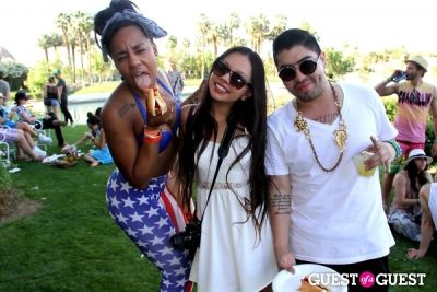 H&M Loves Music Coachella Event 2013