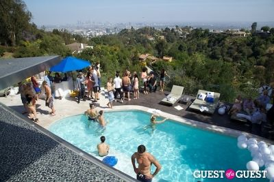 Ciroc Pool Party Celebrating The Birthdays Of Cheryl Burke and Derek Hough