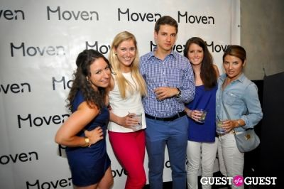 seth rogen in Moven App Launch Party