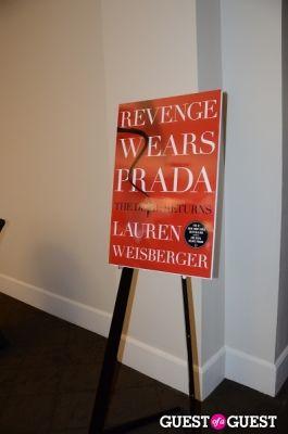 Revenge Wears Prada Book Signing with Lauren Weisberger