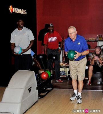 NY Giants Training Camp Outing at Frames NYC