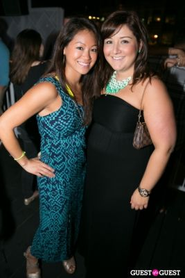 laura mulleavy in Midtown Rooftop Launch Party