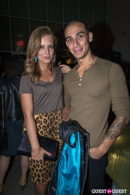 justin hegelsen in Rebecca Minkoff S/S14 After Party