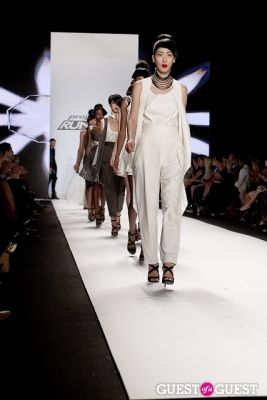 herve amiable in Project Runway Fashion Show