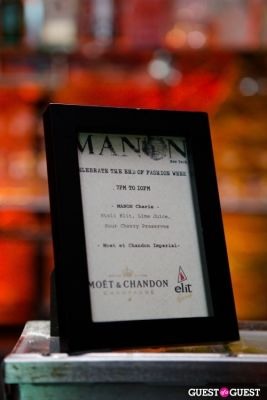 Manon End of Fashion Week Celebration and Fall Season Kickoff
