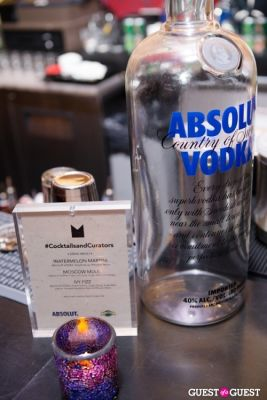 ABSOLUT Vodka and The MEDIUM Group present Cocktails and Curators Honoring Mary Ceruti
