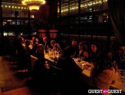 Dinner with Antonio Sersale & Sean MacPherson