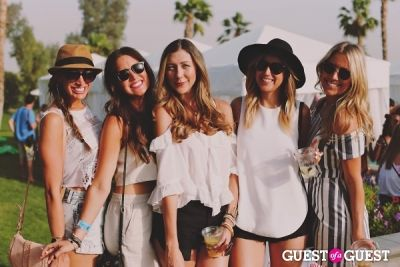 paris hilton in Coachella: LACOSTE Desert Pool Party 2014