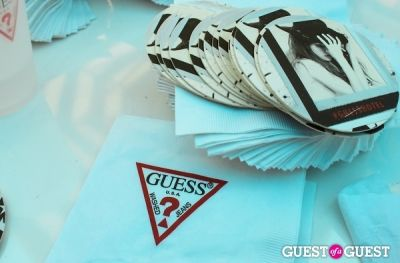 Coachella: GUESS HOTEL poolside celebration in Palm Springs 2014