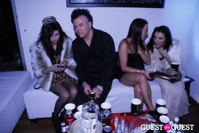 ; in YRB Magazine NYE Mansion Soiree.
