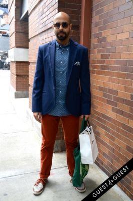 aarij hashimi in Summer 2014 NYC Street Style