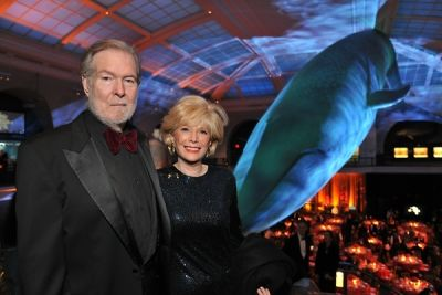 lesley stahl in American Museum of Natural History Gala 2014