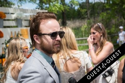 aaron paul in Veuve Clicquot Polo Classic 2014